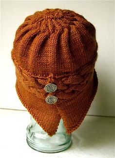 Ravelry: Winfly Hat pattern by Carolyn Doe Knitting Designs, Knitting Patterns, Crochet Patterns, Crochet Ideas, Knit Or Crochet, Free Crochet, Crochet Hats, Stockinette, Needle And Thread