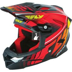 Fly Racing Default Youth Helmet - Black - Red 2015 | Chain Reaction Cycles