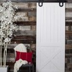 Half X Barn Doors   Rustica Hardware. Comes in a variety of finishes. $600 starting