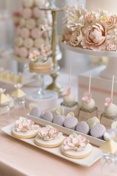 Pretty In Pink Romantic Garden-Inspired Fall Wedding Wedding Desserts, Wedding Cakes, Wedding Dessert Buffet, Pink Dessert Tables, Pretty In Pink, Fall Wedding, Dream Wedding, Garden Wedding, Gothic Wedding