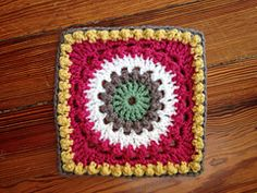 Ravelry: Circle of Friends Square FREE pattern by Priscilla Hewitt