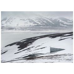 """Jonas Bendiksen's story on The Svalbard Global Seed Vault is available as a limited edition Magnum Distribution.  The full photo story in an envelope features eight 8x10"""" hand-stamped prints and a printout detailing the story and captions.  Available now from shop.magnumphotos.com.  PHOTO: The entrance to the seed vault. Svalbard, Norway. 2016. © @jonasbendiksen/#MagnumPhotos #environment #anthropocene #norway"""