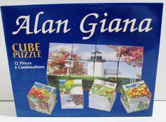 2006 Bits & Pieces 12 Piece Cube Puzzle - 6 Picture Combinations by Alan Giana #BitsAndPieces..... Visit all of our online locations..... www.stores.ebay.com/ourfamilygeneralstore ..... www.bonanza.com/booths/Family_General_Store ..... www.facebook.com/OurFamilyGeneralStore