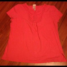 Blouse Pinkish blouse Great condition  No flaws  Size XL Tops Blouses