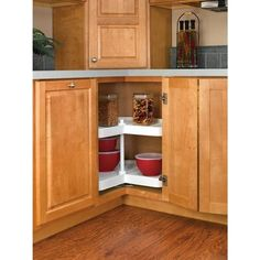 How to organize a lazy susan cabine on pinterest lazy susan organizers and harbor freight tools - How to organize a lazy susan cabinet ...