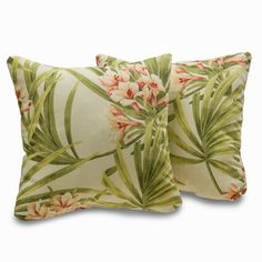 Sea Island 18-inch Decorative Throw Pillows (Set of 2)   Overstock.com Shopping - Great Deals on Throw Pillows