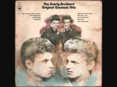 fall of 1958 The Everly Brothers could not have been hotter then they were with the likes of their song' Bird Dog.'