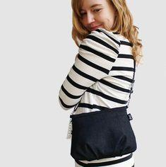 Denim Lady -bag by Pisama Design