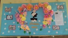Periódico mural del día de las madres Mothers Day Crafts, Happy Mothers Day, Mom Day, Classroom Decor, Event Decor, Photo Booth, Paper Flowers, Crochet, Backdrops