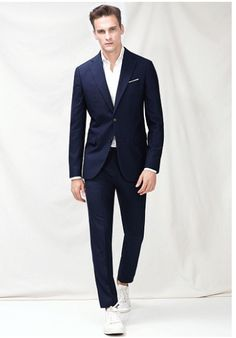 best sneakers 217e0 1ab2d Houndstooth Jerez suit - Men - H. BY MANGO Sneakers and a suite is life for  me