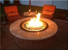Some important do's and don'ts on making your own propane fire pits--note that rocks will explode when heated, always use fire glass.....