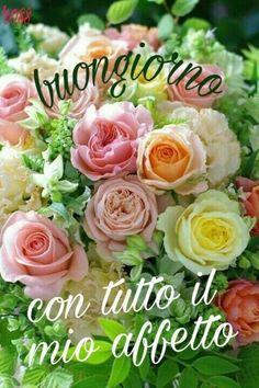 Affettuoso Buongiorno con fiori (3) - BuongiornoATe.it