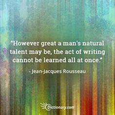 Talent vs. Hard Work