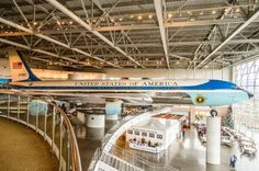 Even if you're not a fan of President Ronald Reagan, you'll find lots of interesting history at the Reagan Library. They even have the airplane Reagan used as Air Force One.
