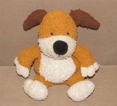 "Prestige Kipper The Puppy Dog Terry Cloth Plush Stuffed Beanbag 7.5"" Toy # 2727 #Prestige"