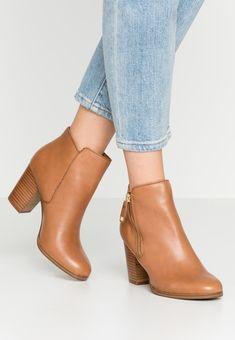 ALDO NAEDIA - Boots à talons - cognac - ZALANDO.FR Zalando Shoes, Boots Talon, Aldo, Beige, Ankle, Fashion, Boots, Heels, Shoe