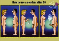 How to use a condom after 60