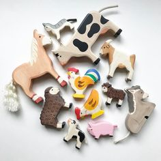 Wooden toys are always a yes! New animals by Holztiger in the shop