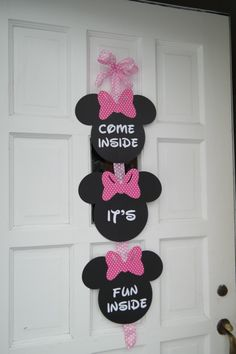 homemade minnie mouse 1st birthday party ideas - Google Search