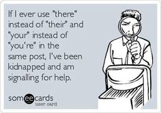 grammar humor ~ yes! Grammar Jokes, Grammar Tips, Chemistry Jokes, Science Jokes, Kindergarten, Word Nerd, I Love To Laugh, Teacher Humor, Teacher Sayings
