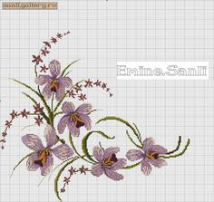 This post was discovered by Ay Small Cross Stitch, Cross Stitch Bird, Cross Stitch Borders, Cross Stitch Flowers, Cross Stitching, Cross Stitch Embroidery, Cross Stitch Patterns, Weaving Patterns, Lace Patterns
