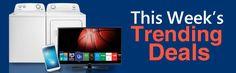 This Week's Trending Deals  ○ Appliances ○ Bedding ○ Car Audio ○ Smartphones ○ Deals