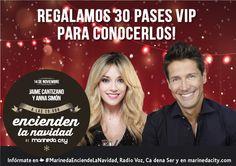 Notición! Jaime Cantizano y Anna Simón serán los encargados de inaugurar la Navidad en Marineda City! Os esperamos el 14 de noviembre para encender la iluminación con nuestros padrin@s de lujo! No podéis faltar! #MarinedaCityEnciendeLaNavidad
