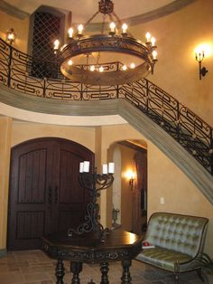 Mediterranean Entry Design, Pictures, Remodel, Decor and Ideas - page 5