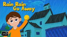 Rain Rain Go Away with Lyrics | Nursery Rhymes and Kids Song