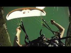 ParaBASE: Paraglider Cutaway To Freefall Stunt
