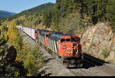 RailPictures.Net Photo: CN 5526 Canadian National Railway EMD SD60F at Jasper, Alberta, Canada by Tim Stevens