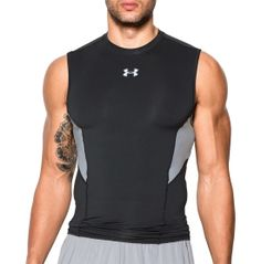 Under Armour Men's HeatGear CoolSwitch Compression Sleeveless Shirt...