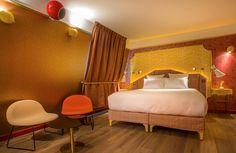 Idol Hotel, Paris | designed by Julie Gauthron