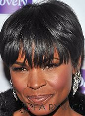 These pictures of short hairstyles worn by celebrities like Nia Long, Halle Berry, Eva Pigford and more may just inspire you to get a short snip! Short Hairstyles For Women, Weave Hairstyles, Cool Hairstyles, Black Hairstyles, African American Short Hairstyles, Hairstyle Hacks, Bangs Hairstyle, Hairstyle Short, Nia Long