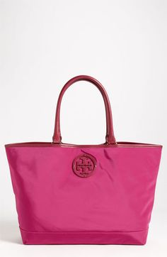 cute. love Tory.    Tory Burch Stacked Logo Tote available at #Nordstrom