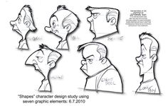 Shapes character design study.6.7..2010