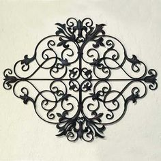Exuding old world charm, this lovely scrolling wall grill will fit perfectly in your Tuscan style home, $148.00