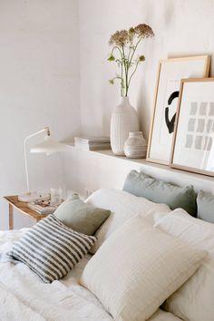 Bedroom Nook, Boho Bedroom Decor, Queen Bedroom, Room Ideas Bedroom, Bedroom Colors, Home Bedroom, Master Bedroom, Bedroom Furniture, Bedrooms