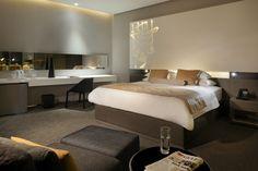 Intercontinental hotel bedroom