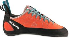 Scarpa Helix (women's, Mandarin Red) -- These are the shoes I got today!!  :D
