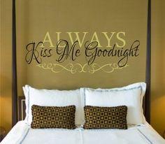 Always Kiss Me Goodnight meg_jean