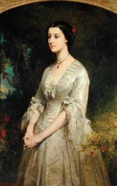 Portrait of Marie du Val de Bonneval (1833-1885)