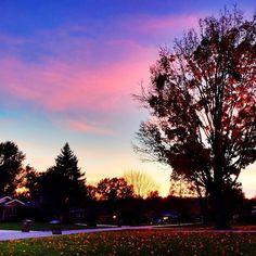 Beautiful sunset ton