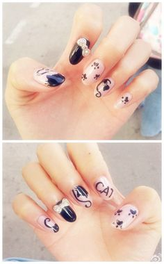 For the crazy cat lady in me <3  I really need my nails like this...REALLY!
