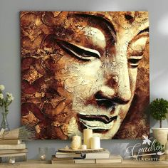 The lord Buddha Buddha Canvas, Buddha Wall Art, Blue Tower, Budha Art, Budha Painting, Home Bild, Buddha Drawing, Buddha Kunst, Buddha Sculpture