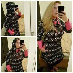 PDF Cozy dress adult size 34-54