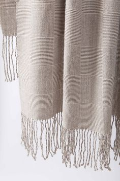 Damier Alpaca Throw Blanket