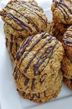 Fragile The Gm Diet Side Effects Bakery Recipes, Cookie Recipes, Dessert Recipes, Healthy Cookies, Healthy Sweets, Yummy Snacks, Yummy Food, Sugar Free Deserts, No Salt Recipes