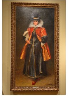 Full length portrait of Pocahontas done after she travelled to England. She was born Matoakoa c 1595 d March 1617 Gravesend, England.