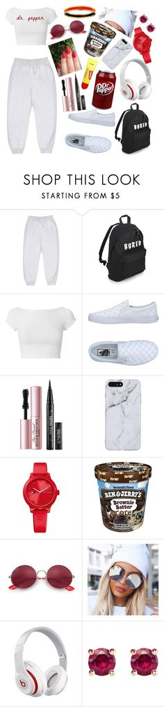 """""""Nara's Outfit 2"""" by mooooodlet on Polyvore featuring Yeezy by Kanye West, Helmut Lang, Vans, Too Faced Cosmetics, Tommy Hilfiger, Ray-Ban, Beats by Dr. Dre and Thomas Sabo"""